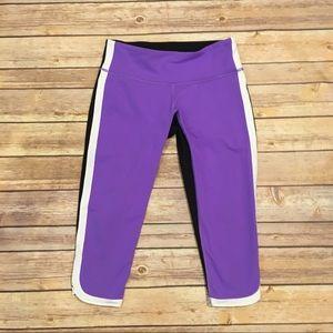 lululemon athletica Pants - Lululemon Ignite Crop in Power Purple, Size 4